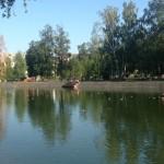Яблочный Спас в парке Урицкого