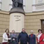 Возложение цветов к памятнику великому русскому поэту А.С. Пушкину